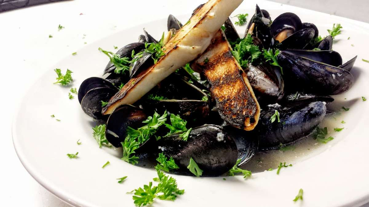 Guinness Cream Mussel