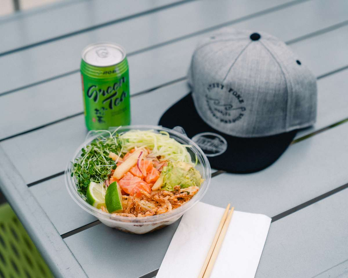 food and hat