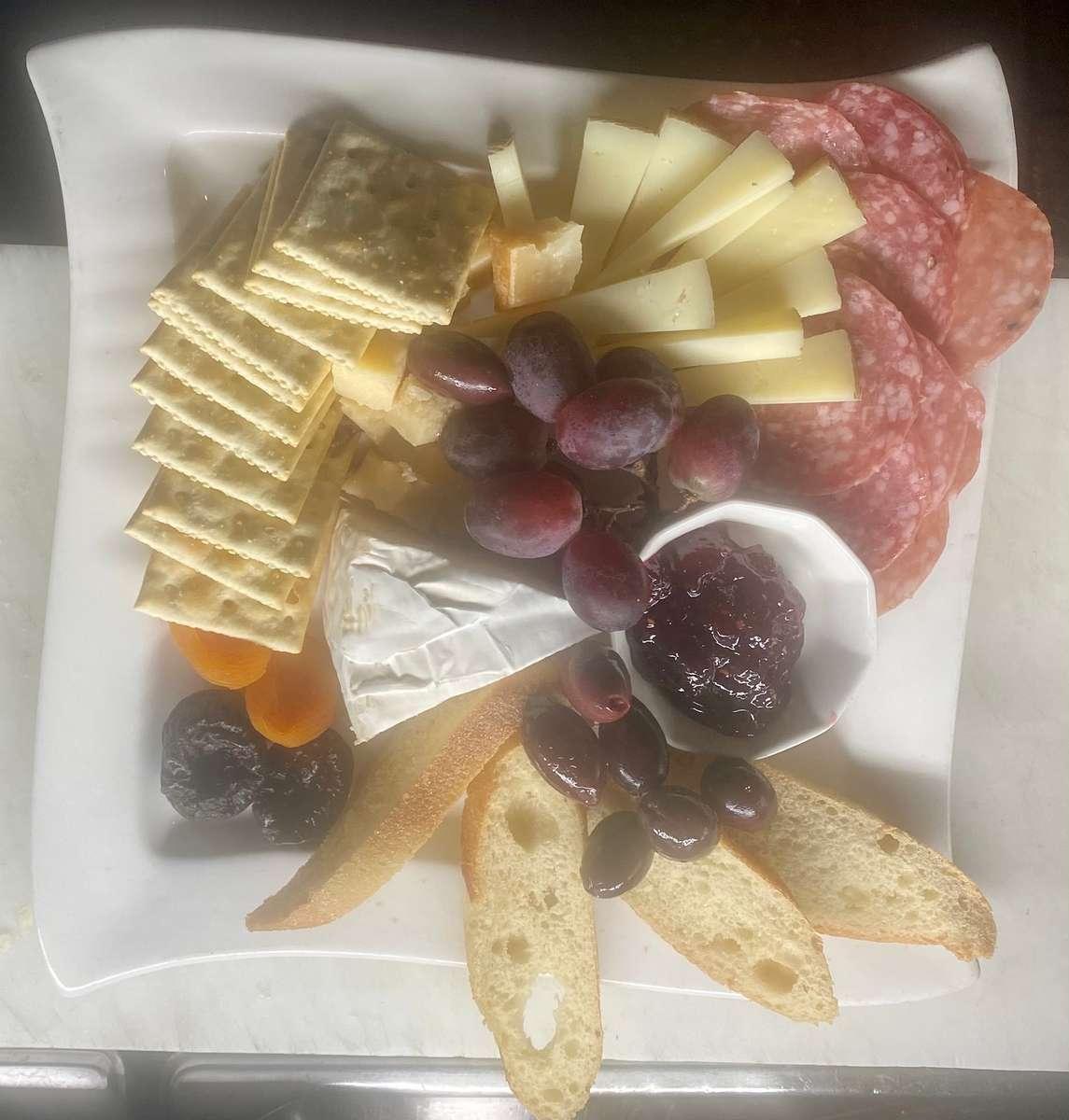 Mediterranean Cheese and Salumi plate