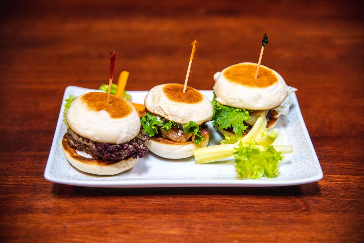 Grilled Lamb Sliders*
