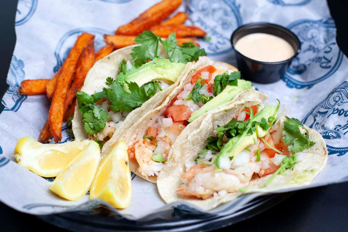 Shrimp Tacos (3)