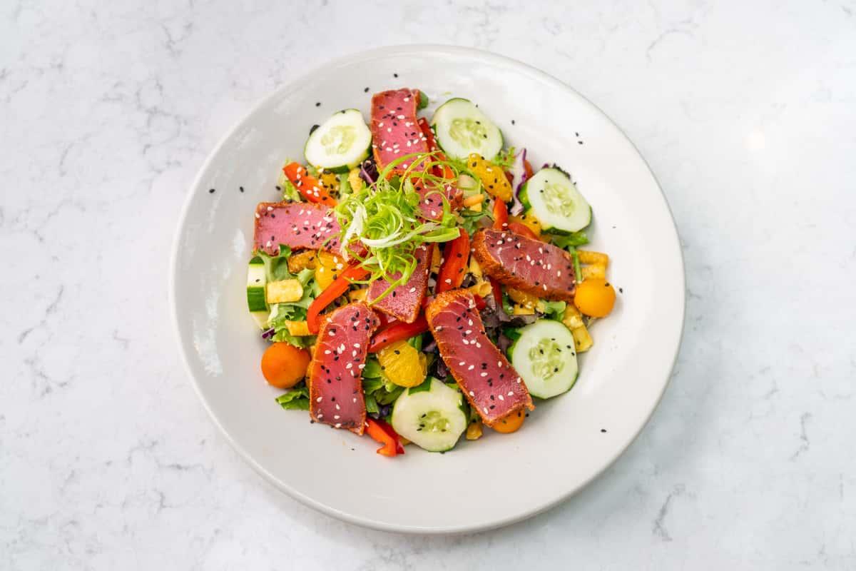 Blackened Ahi Tuna Salad