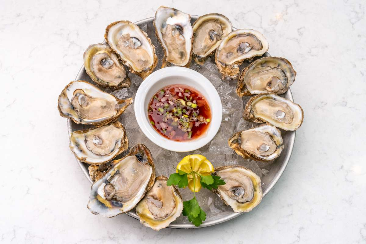 Local Oysters on the Half Shell