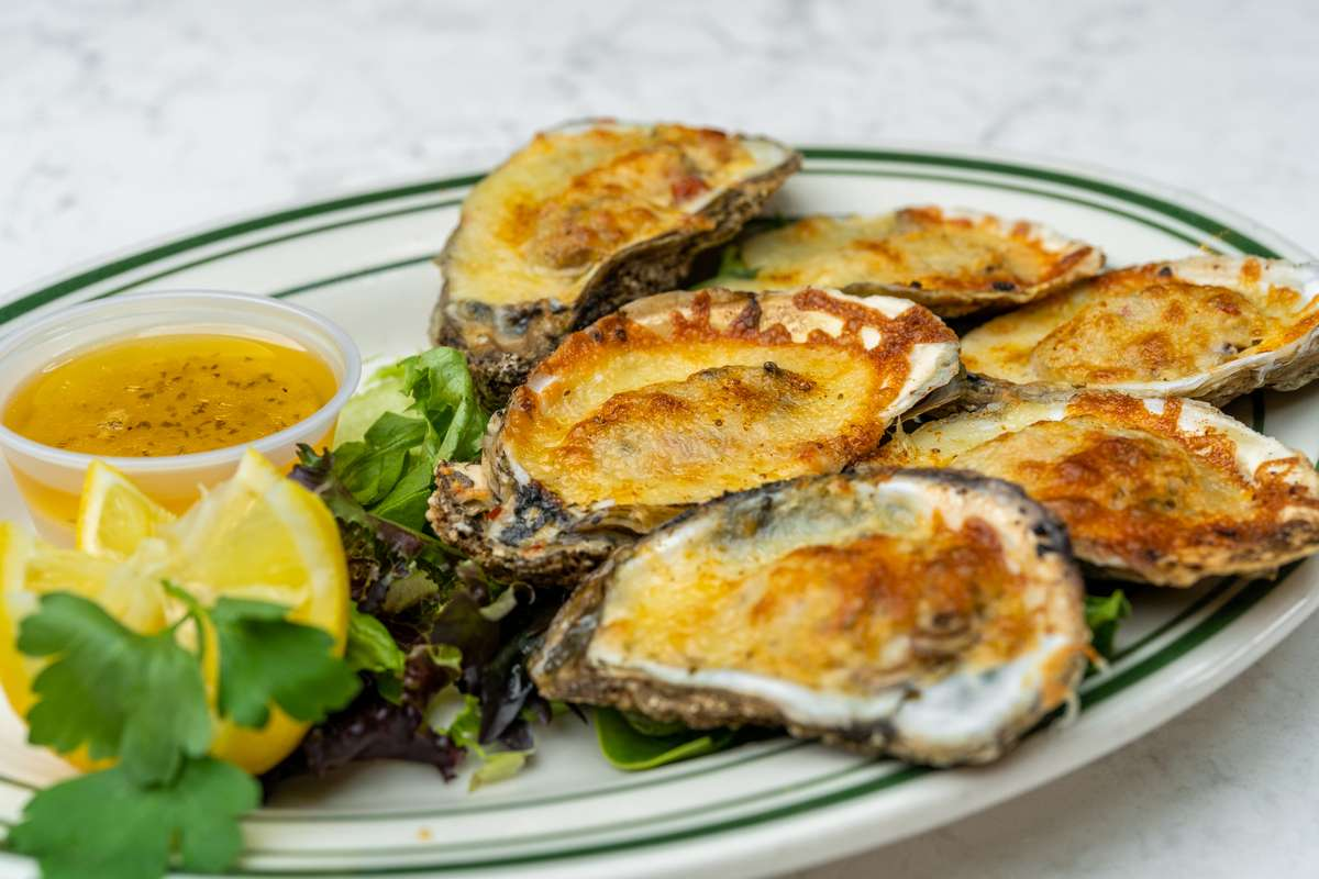 Louisiana Style Char-Broiled Oysters