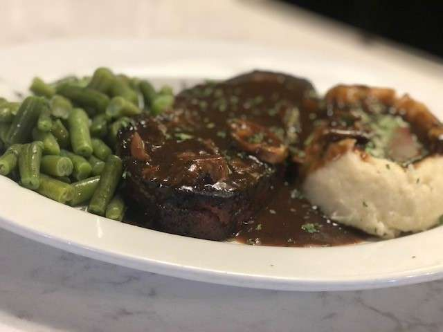 Wednesday - Meatloaf, Mashed Potatoes and Gravy