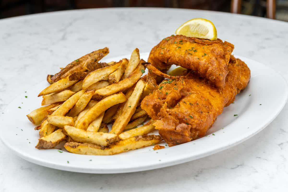 """""""Aviator"""" Fish & Chips"""