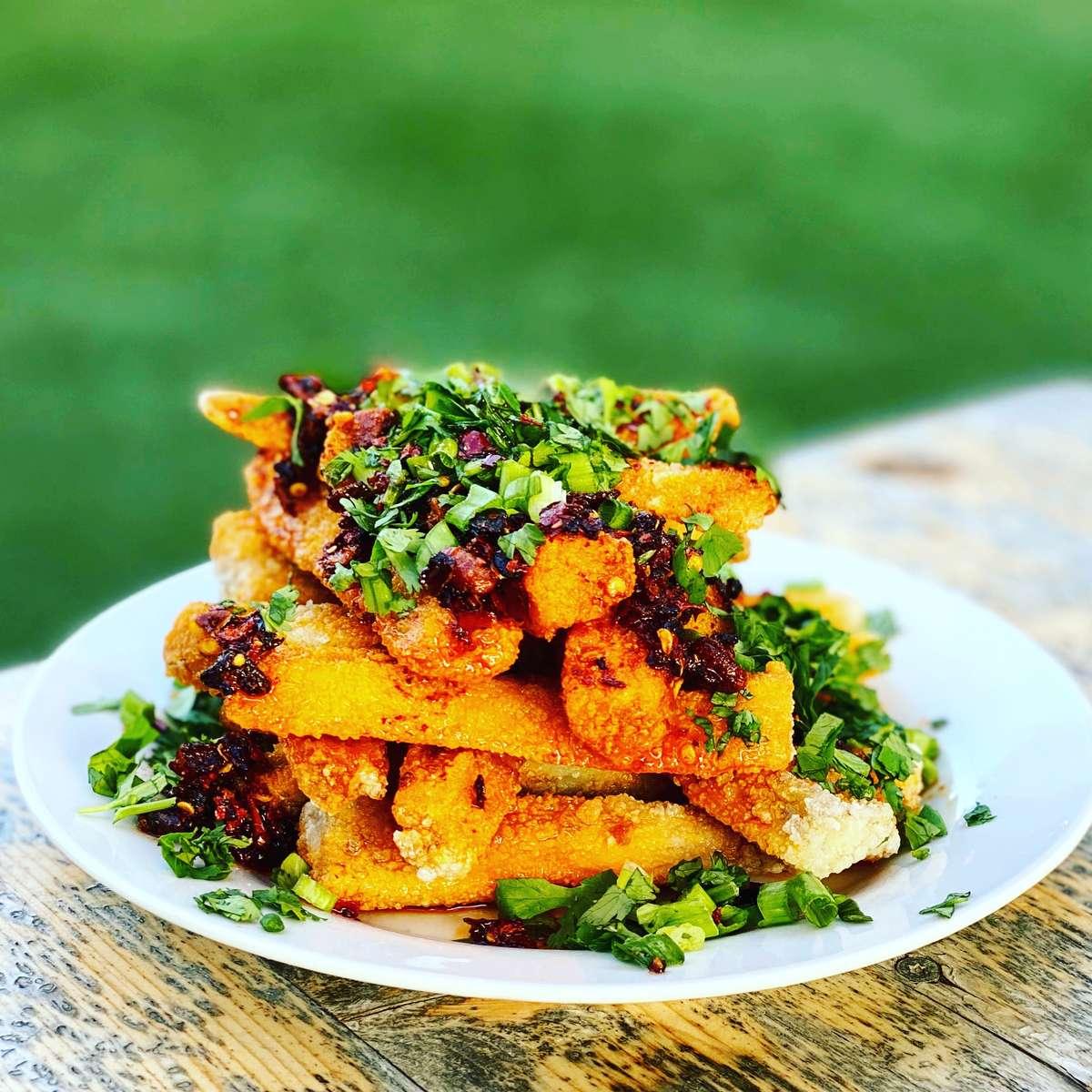 Eggplant Fries (Vegan)