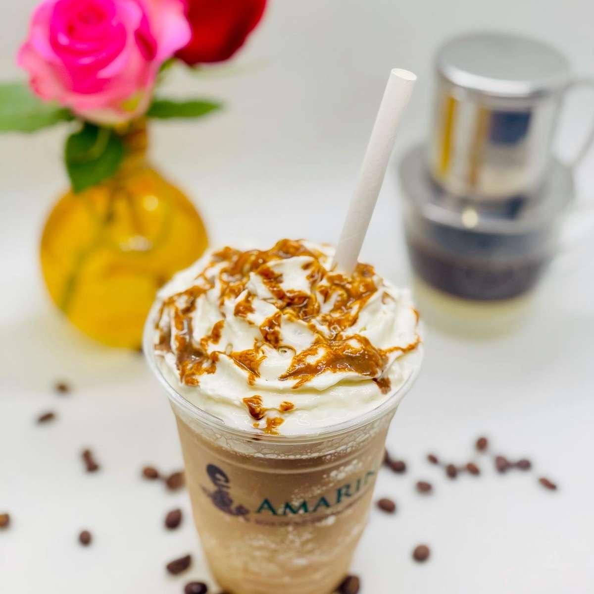 Frozen Vietnames Iced Milk Coffee