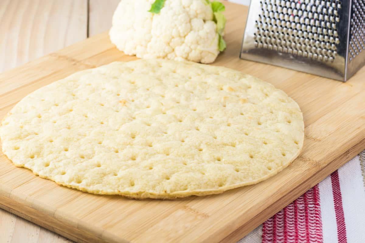 Gluten-Free Cauliflower Risen Pizza Crust