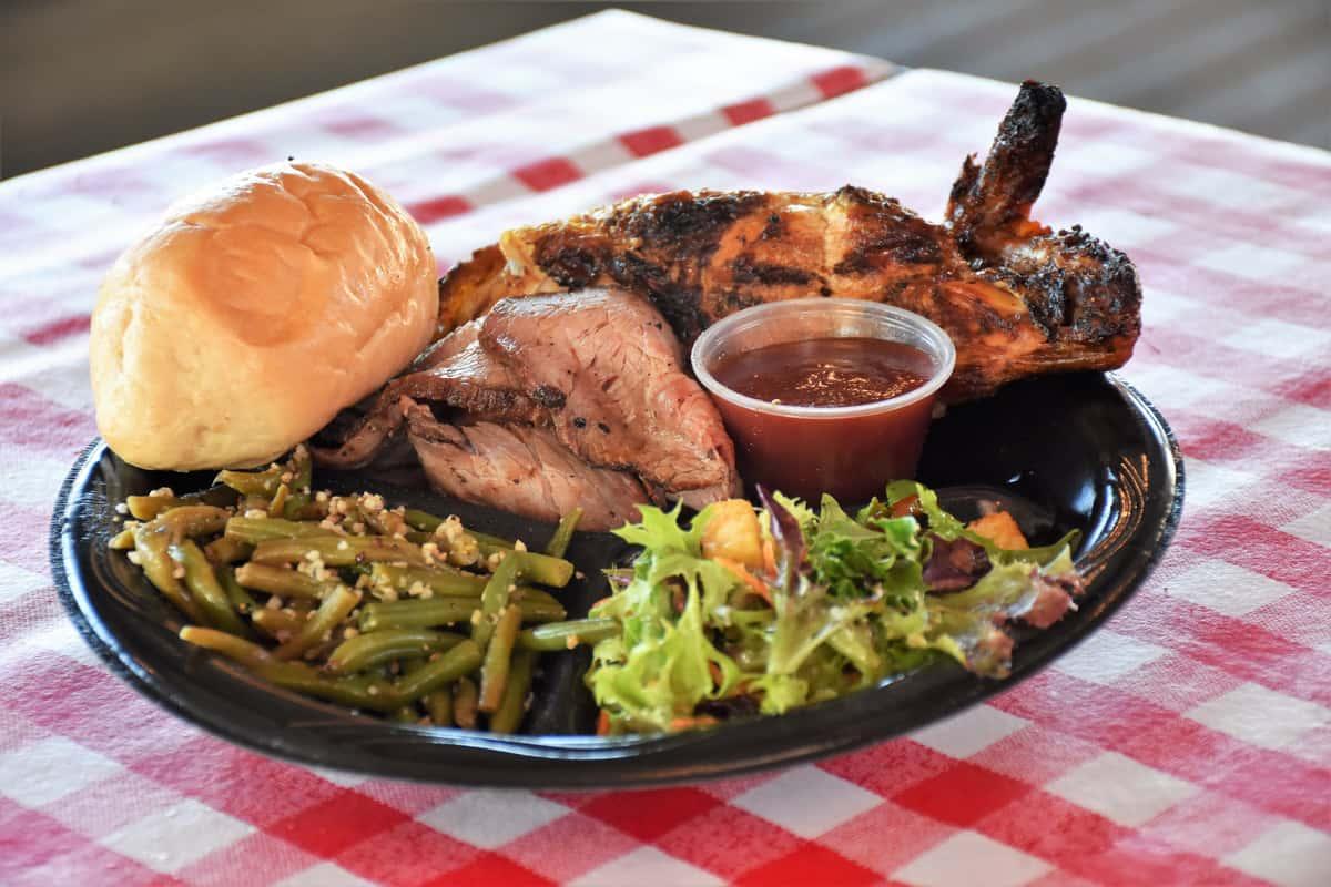 Catering Dinner Plate
