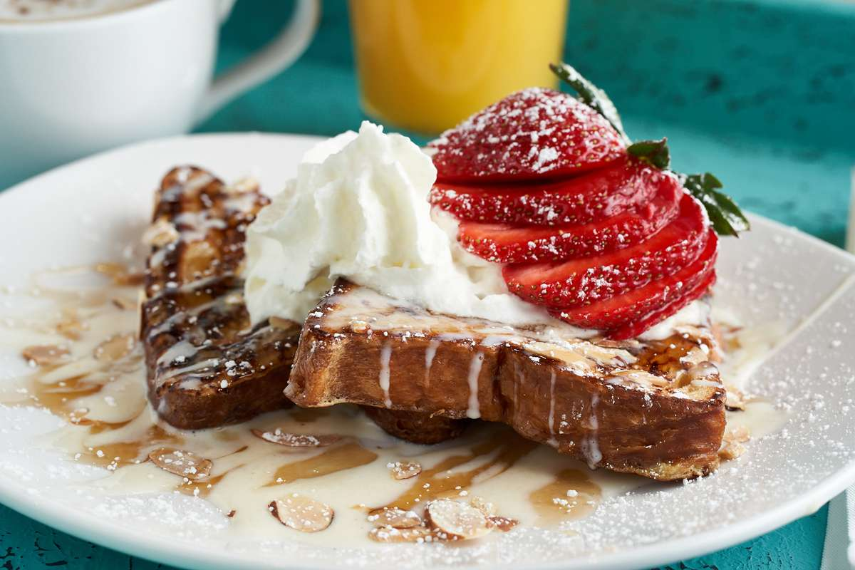 Almond Croissant French Toast