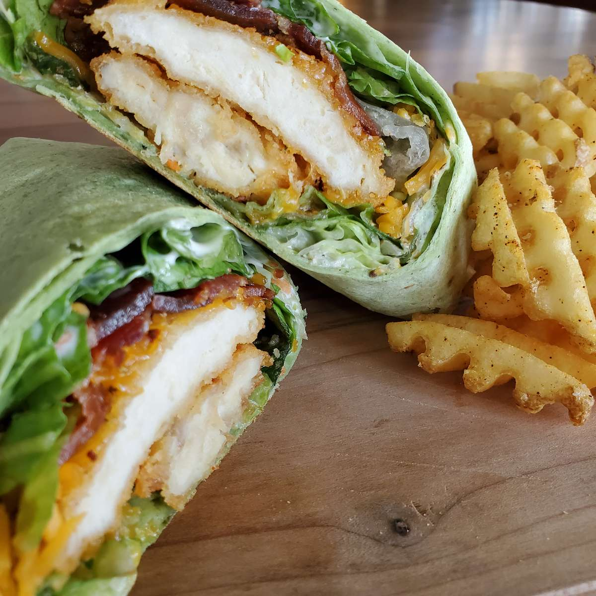 Bacon Ranch Chicken Wrap