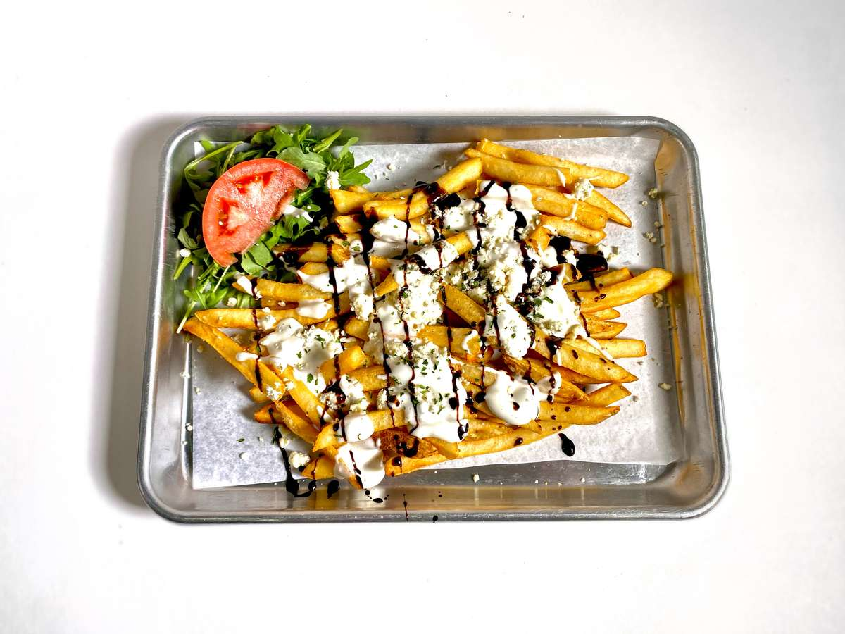 Black & Blue Loaded Fries