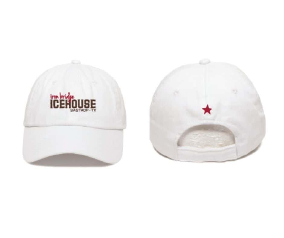 White IBIH Hat