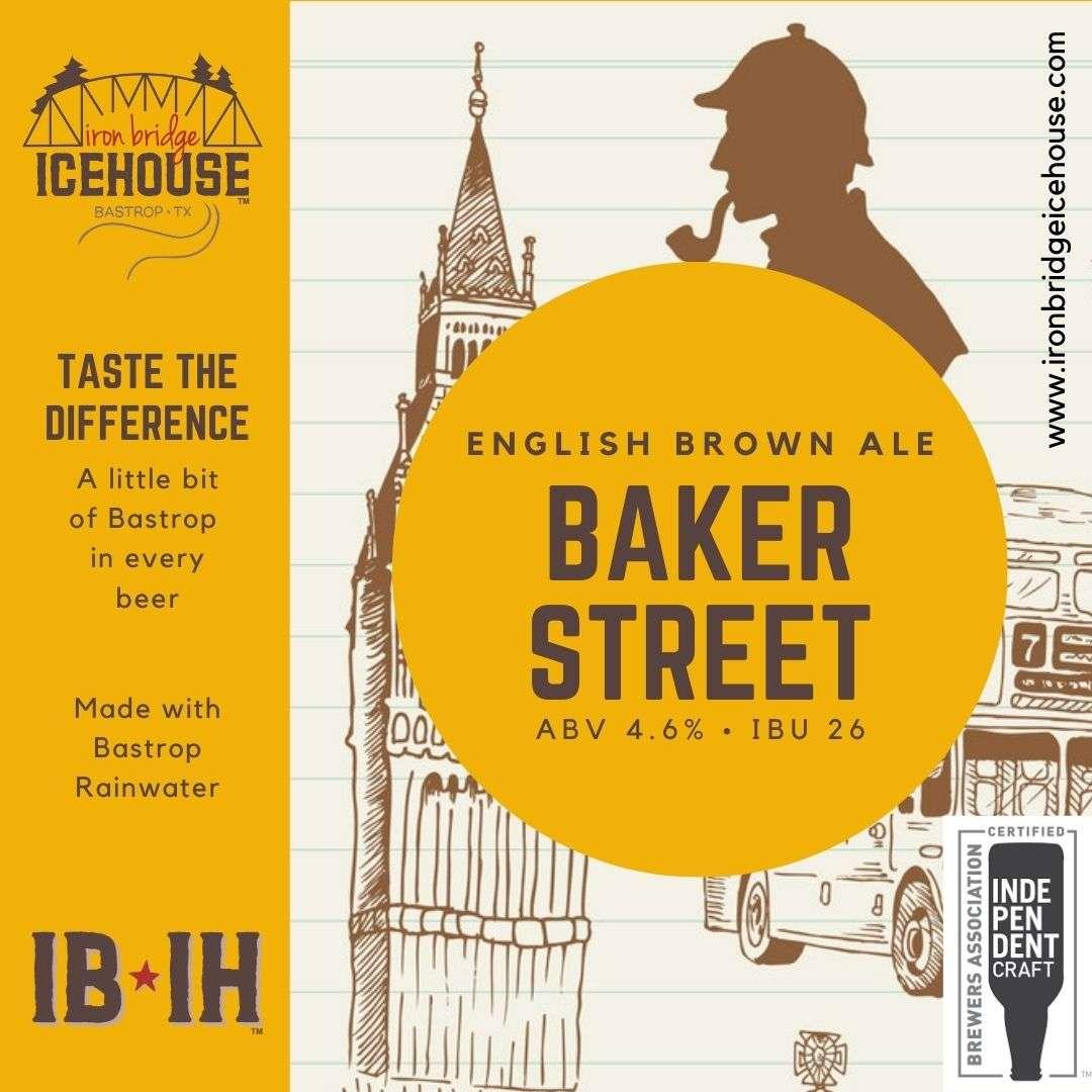 6. Baker Street™ English Brown Ale 4.6% | 22 IBU
