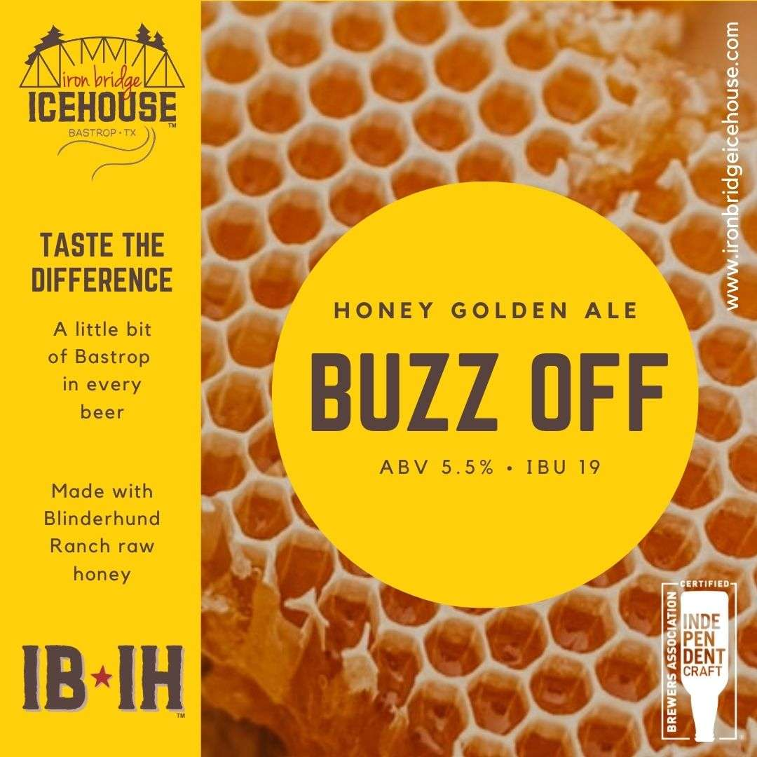8. Buzz Off™ Golden Ale 5.5%   19 IBU