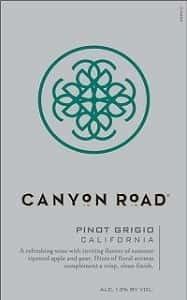 Canyon Road Pinot Grigio