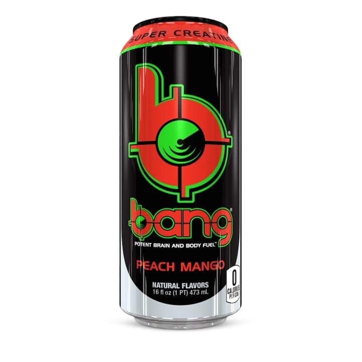 BANG Energy Peach Mango