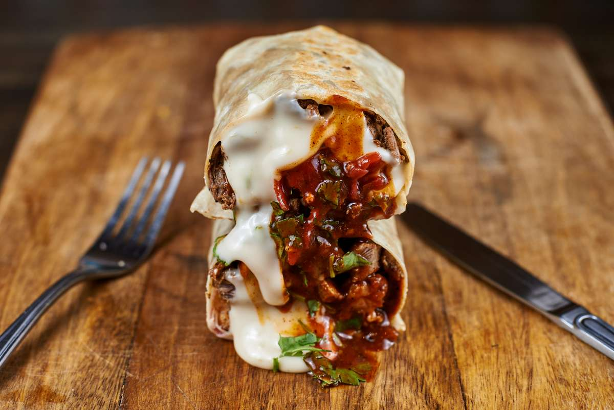 Steak N' Cheesy Chipotle Burrito
