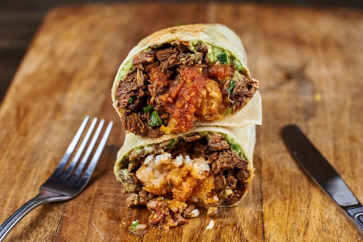 Carne Asada Street Burrito