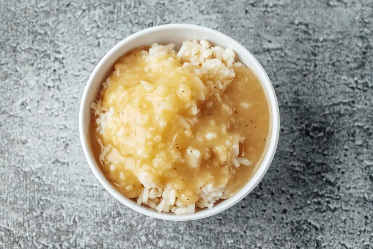 mashed potaotes