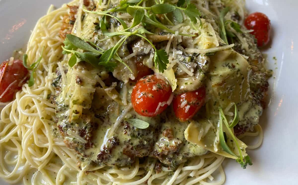 Parmesan-Encrusted Chicken
