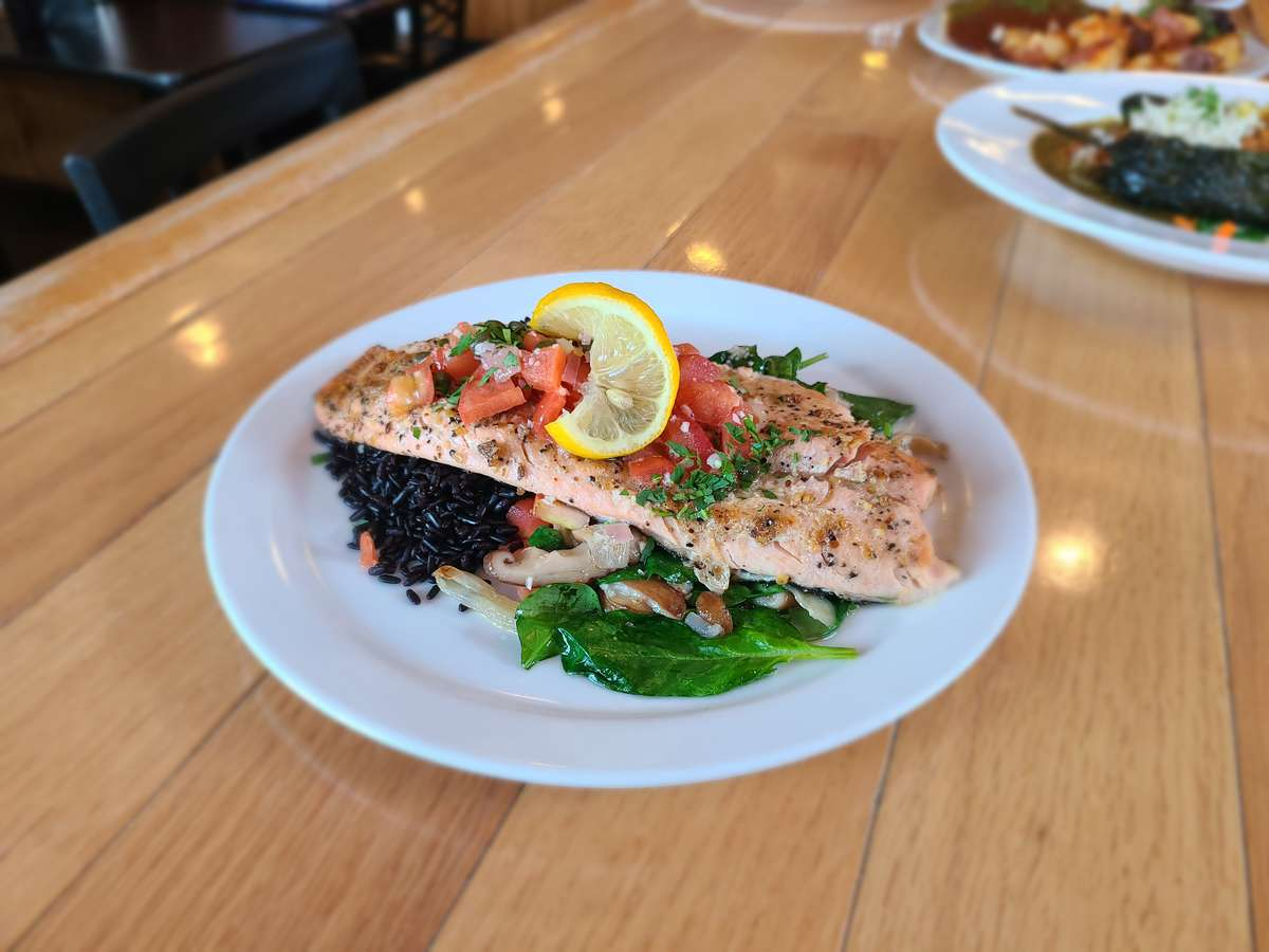 Ruby Red Trout Piccata
