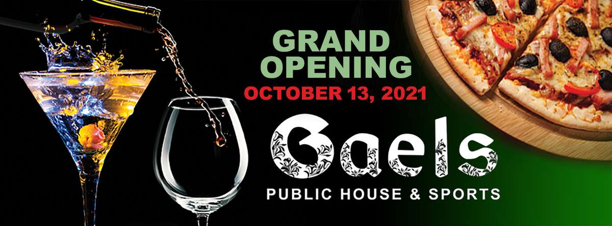 Grand Opening Gaels October 13 2021