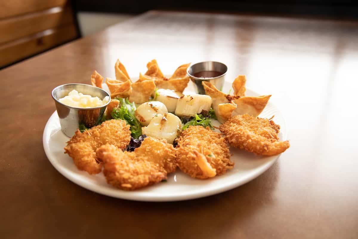 Asian Seafood Platter