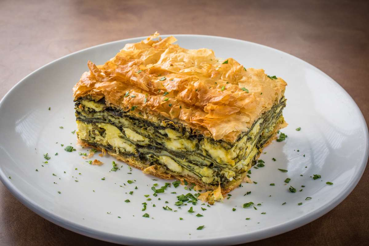 Mom's Famous Spinach Pie