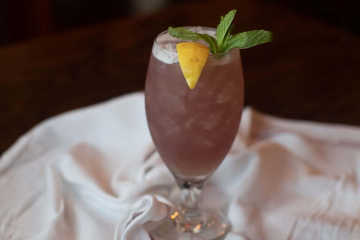 Titos blueberry lemonade