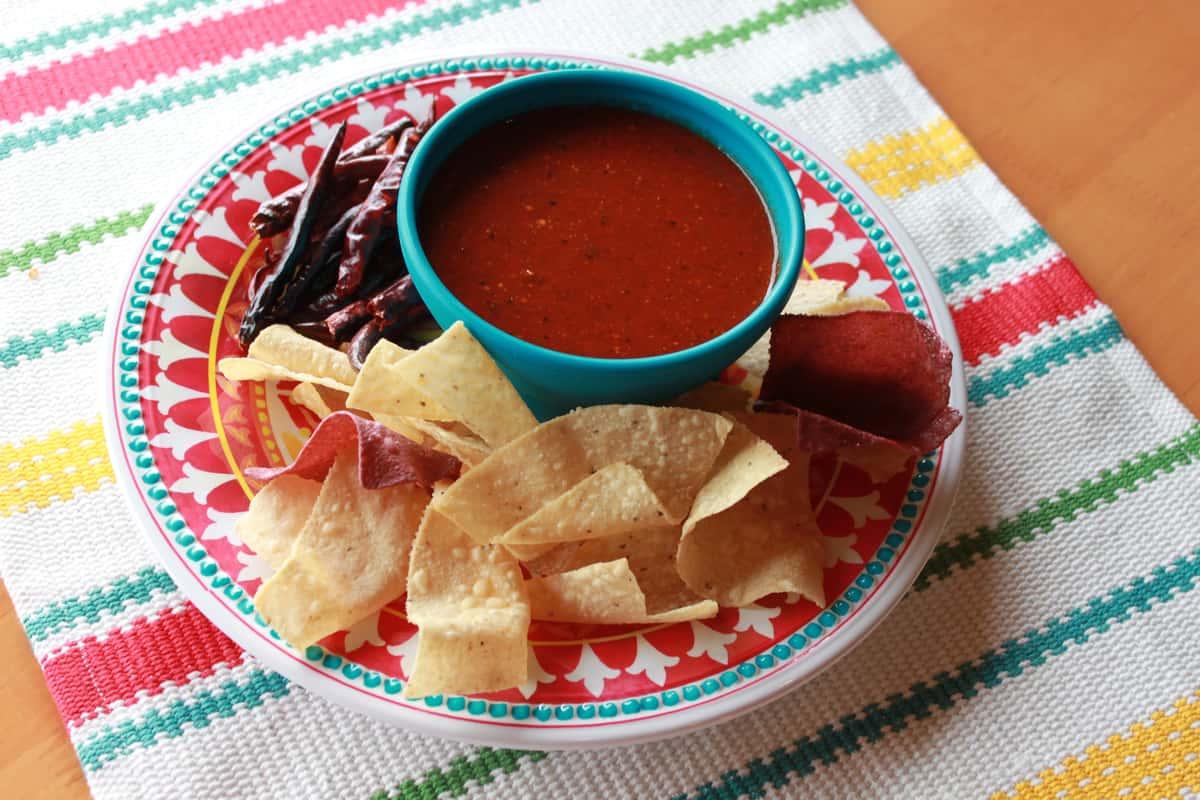 Jesse's hot red sauce