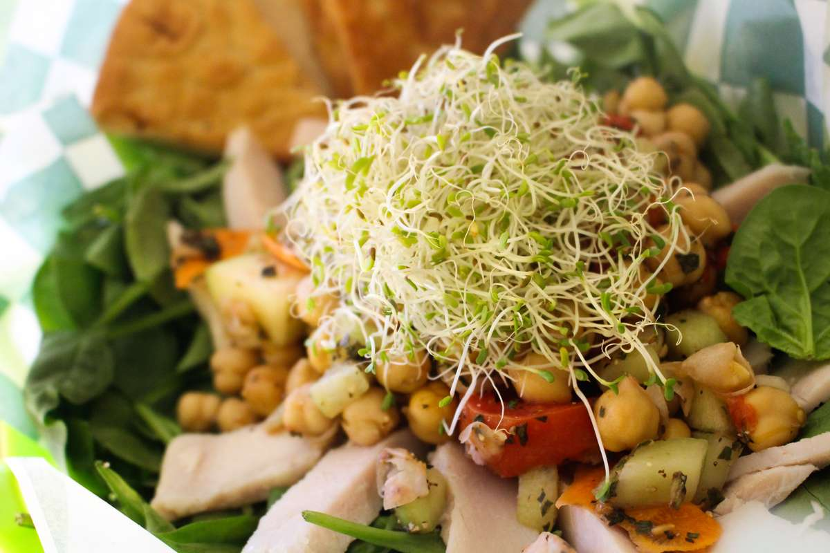 Wow! Bootcamp Approved Salad