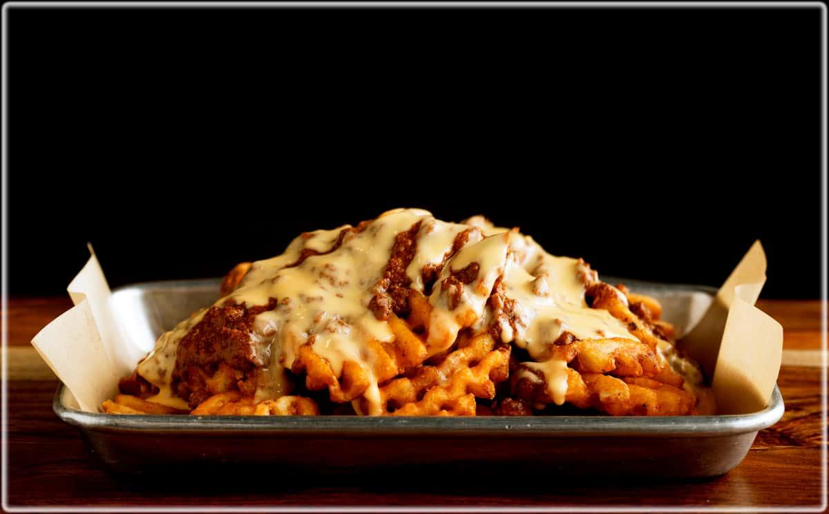 Chili Cheese Waffle Fries