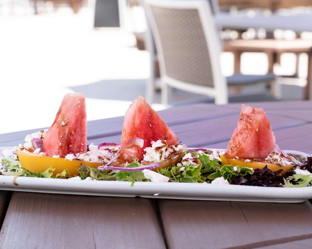 Tomato & Watermelon Salad