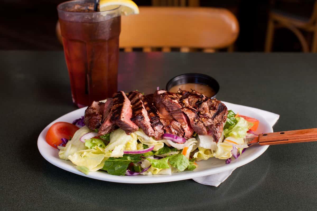 Top Sirloin Steak Salad