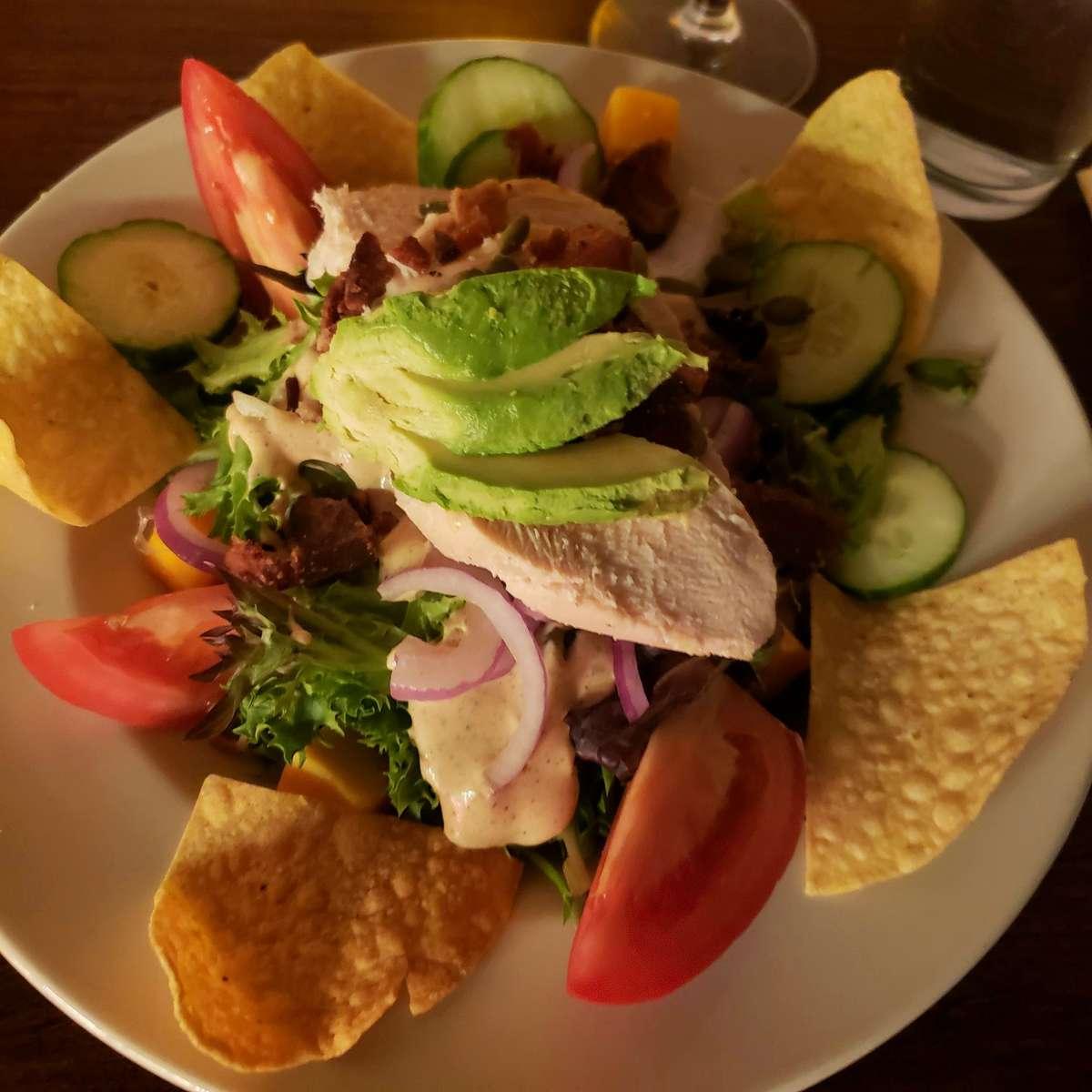 Adobo Chicken Salad