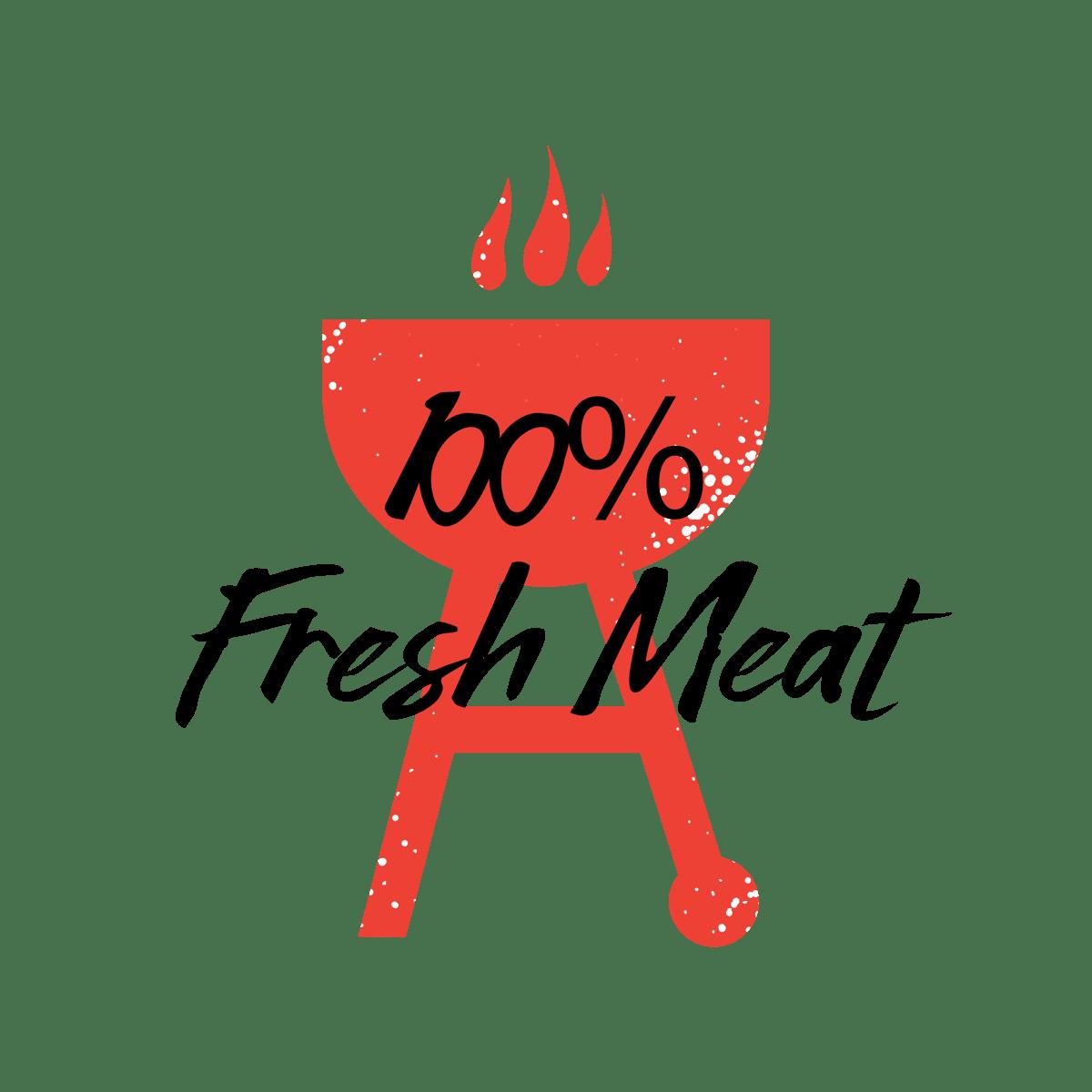 100% Fresh Meat