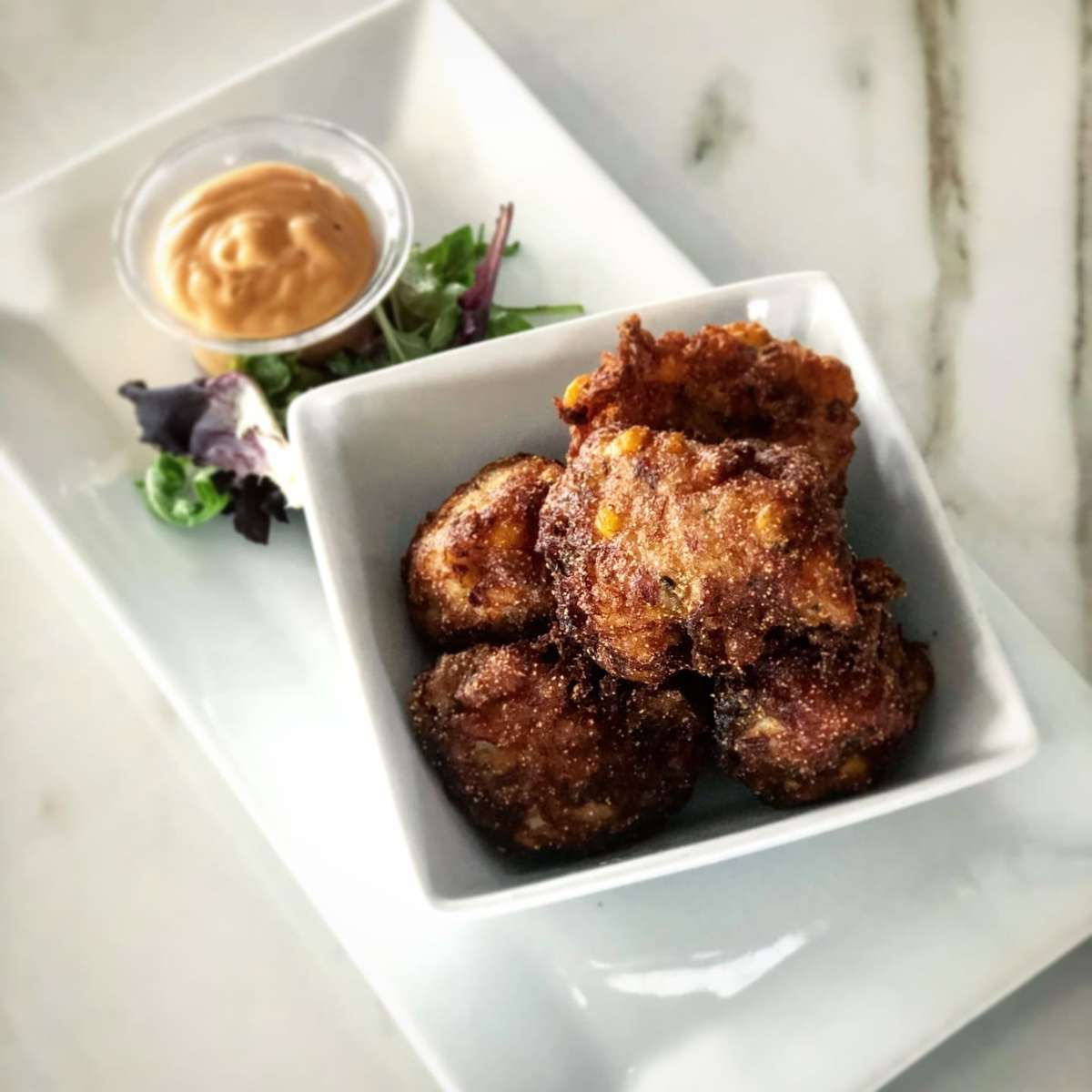 Crab & Corn Fritters
