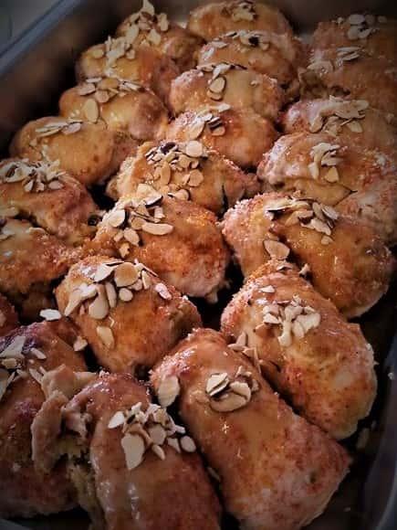 Apple Almond Chicken