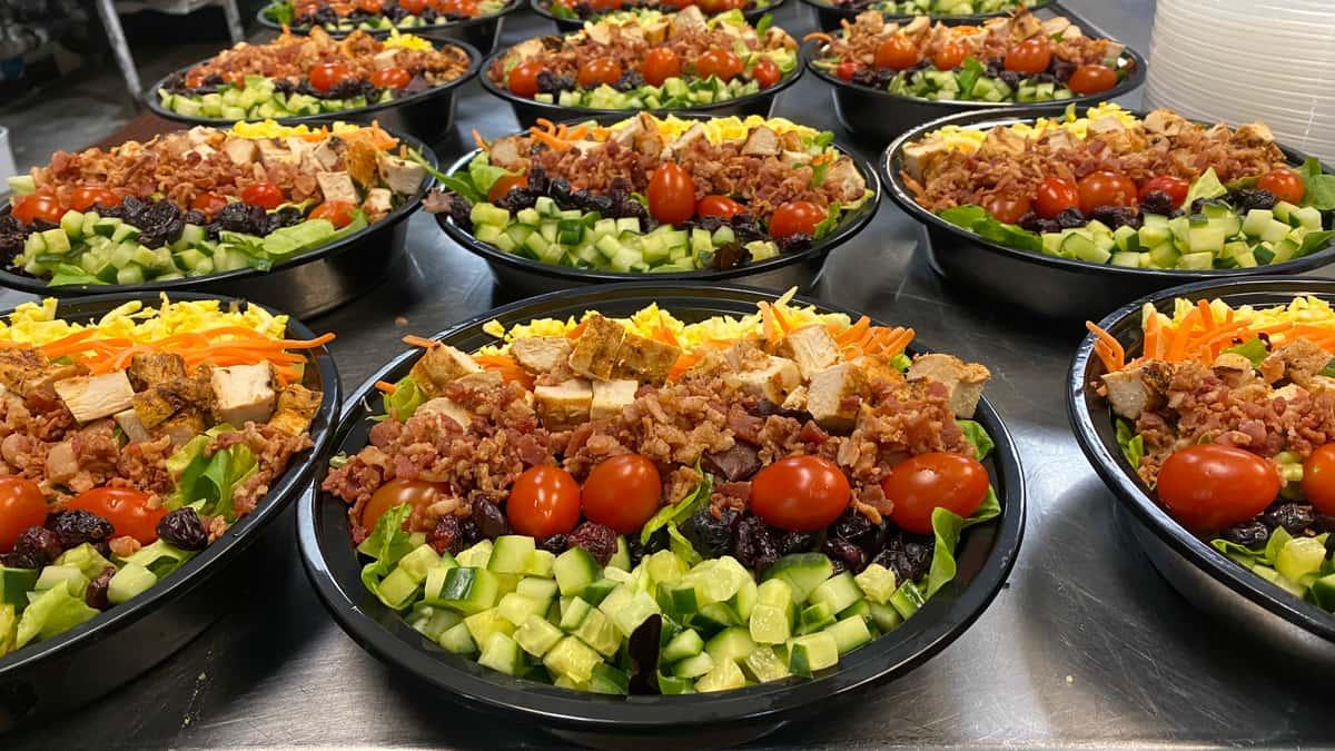Cobb Salad with Sherry Vinaigrette Dressing