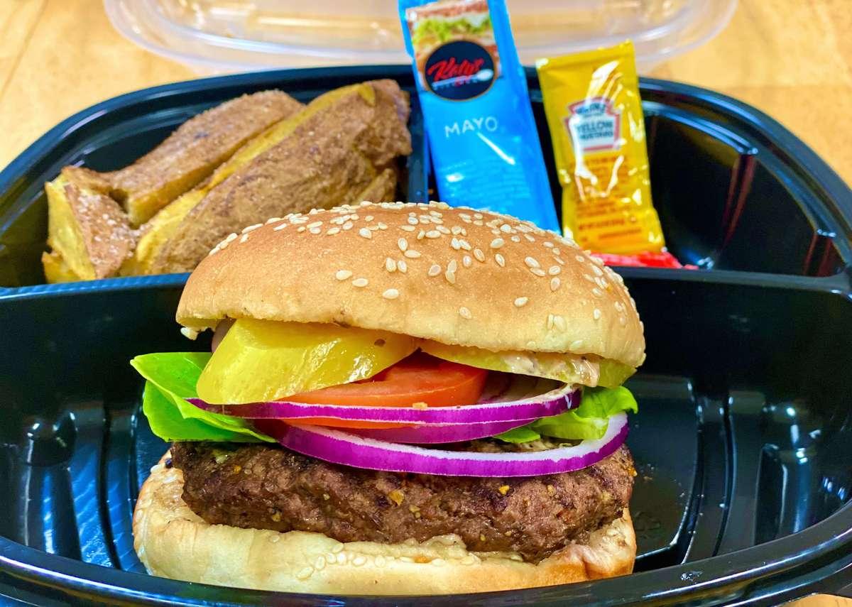 Grilled 6 oz Hamburger