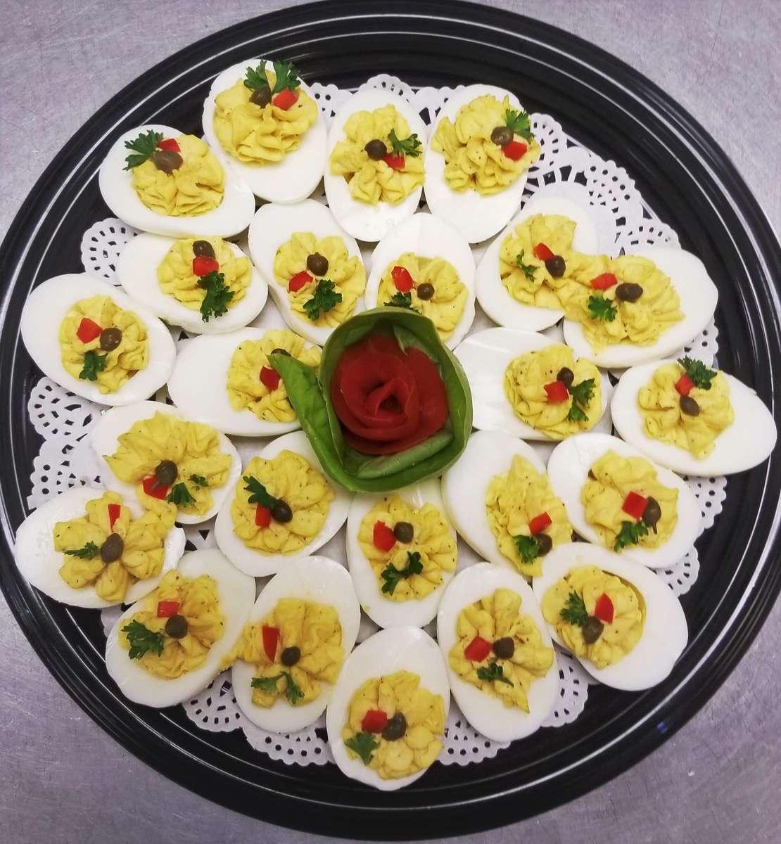 Stuffed Deviled Eggs