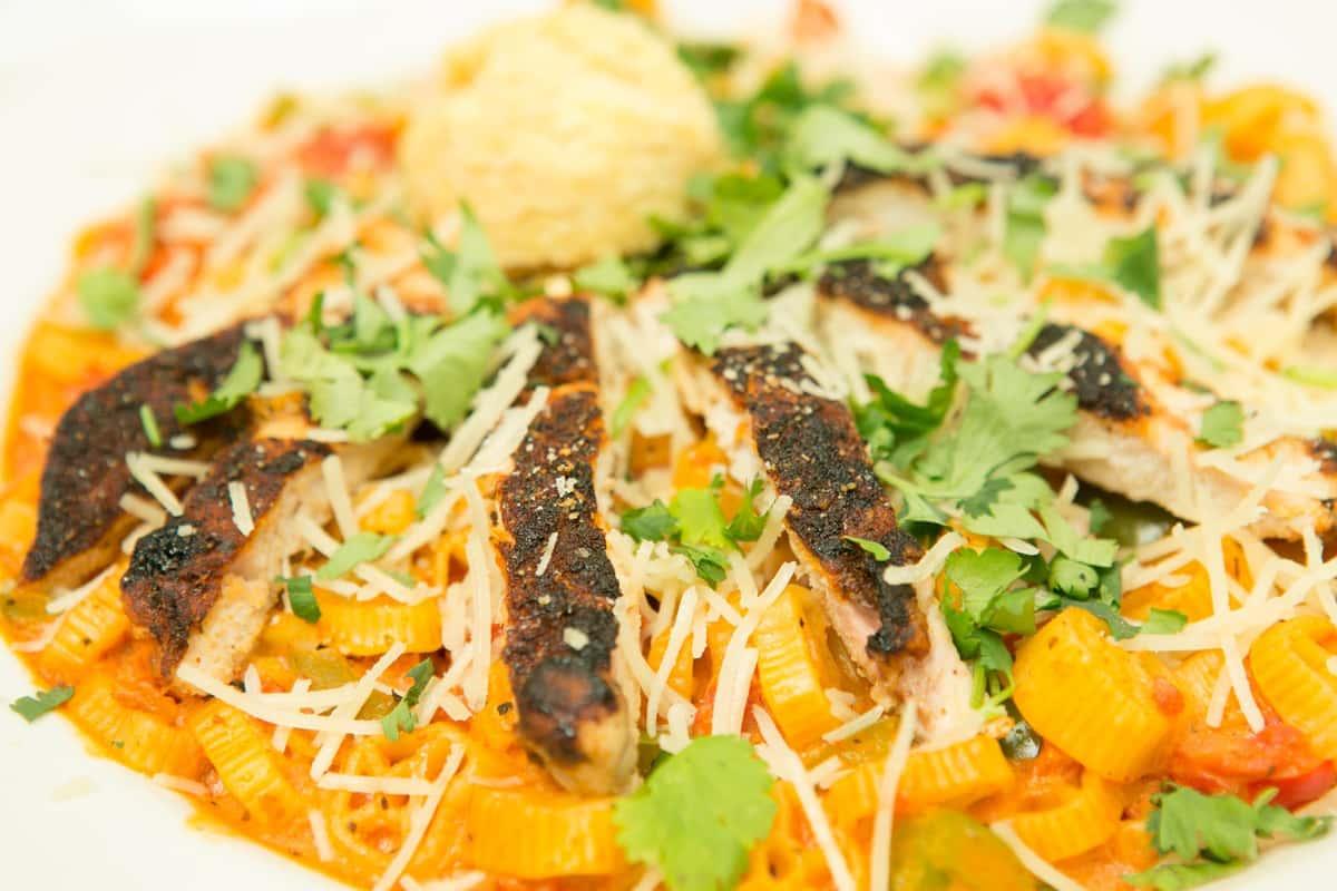 Blackened Chicken & Pasta Santa Fe