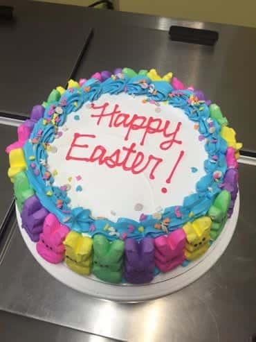 Peeps Easter Ice Cream Cake