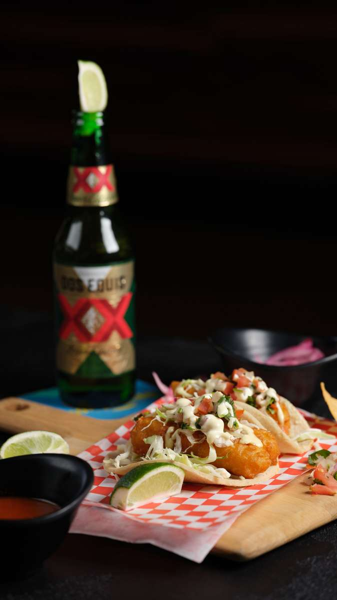 One Fish Taco & Beer Combo