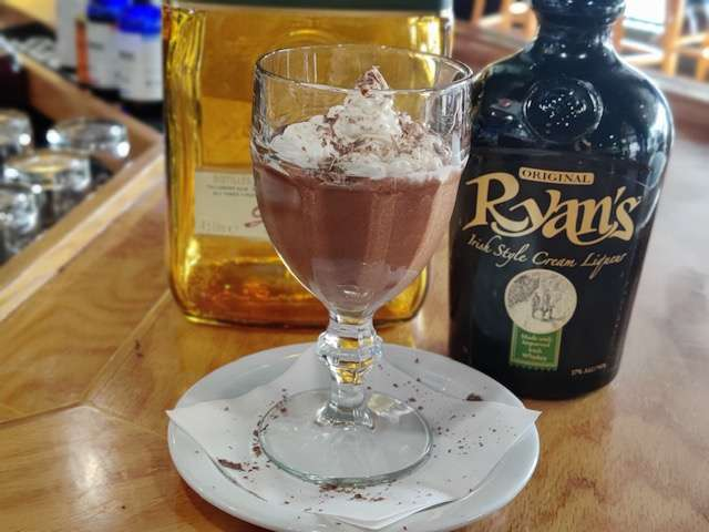 Ryan's Irish Cream Chocolate Mousse