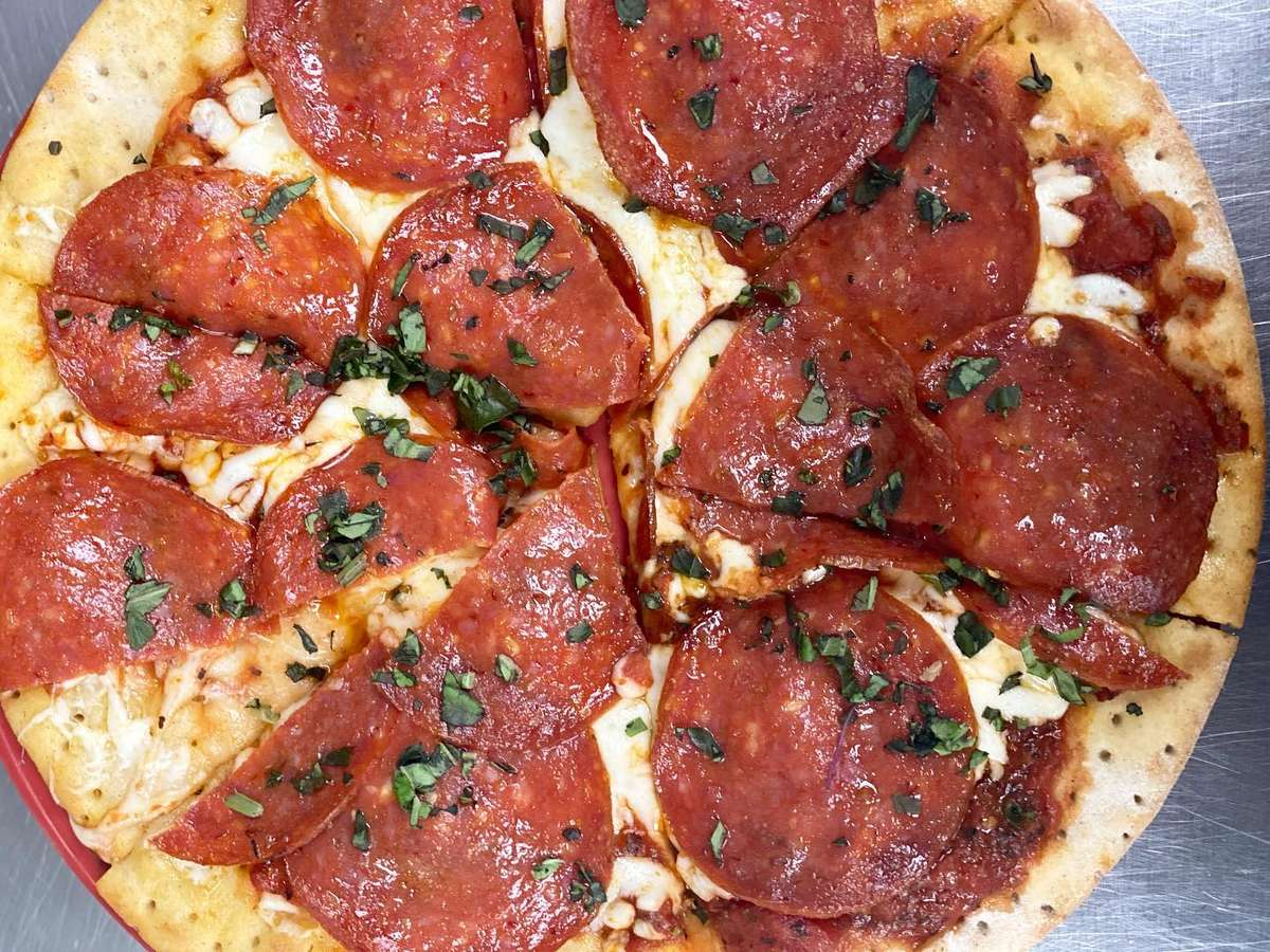 All Natural Pepperoni Pizza (GF)