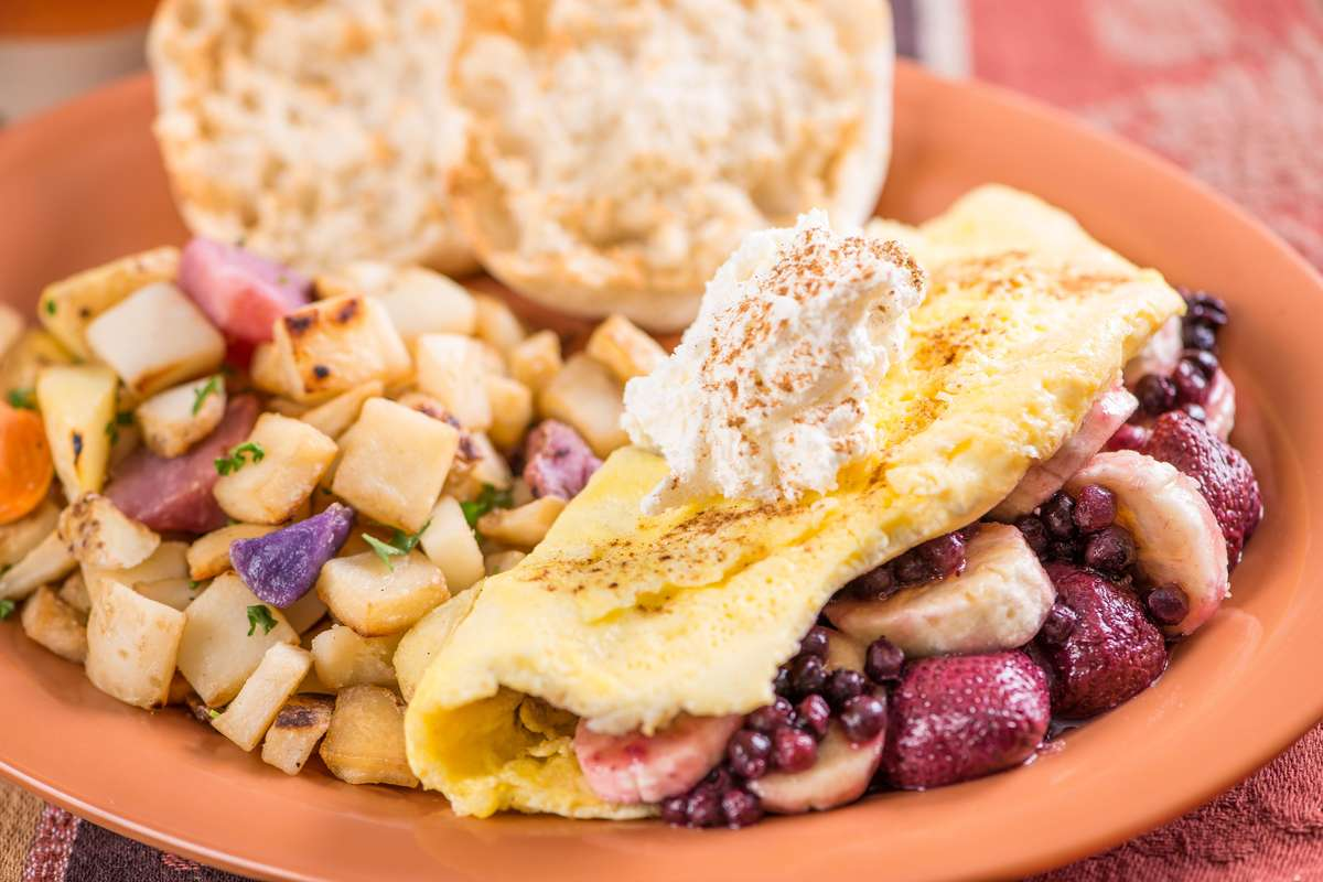 *Connie's Famous Fruit Omelet