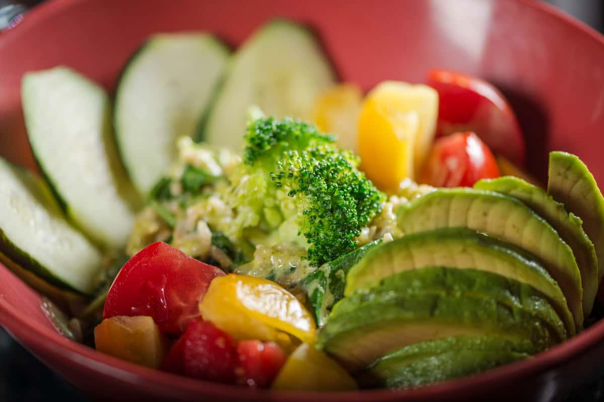 Wasabi Vegetable Bowl